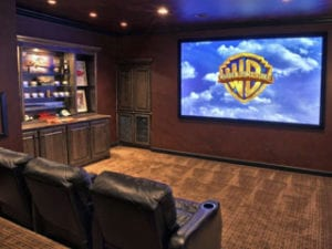 Audiovisual electrical install